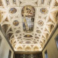 Soffitto e dipinto nel refettorio - Domenico Bressan - Ravenna (RA)
