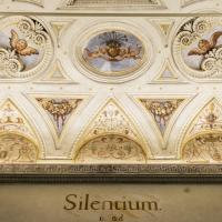 Soffitto sopra l'ingresso del refettorio - Domenico Bressan - Ravenna (RA)