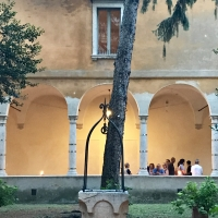 Biblioteca Classense-primo chiostro - Emilia giord - Ravenna (RA)