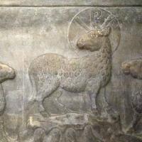 GalliaPlacidia sarcofago Constantino III detalle Agnus Dei - Hispalois - Ravenna (RA)