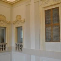 Palazzo Rasponi Dalle Teste (Ravenna) - finestre scalone - Nicola Quirico - Ravenna (RA)