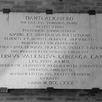 Tomba di Dante iscrizione - Opi1010 - Ravenna (RA)