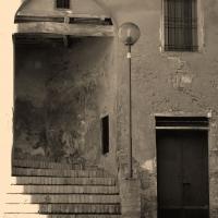 Scala di accesso alla piazzetta Caterina Sforza - Marinaloconteciaranfi - Riolo Terme (RA)