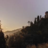 Sunset Skyline - Pz.ph - Brisighella (RA)