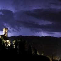 Torre dell'Orologio durante la tempesta - UmbertoPaganiniPaganelli - Brisighella (RA)