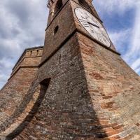 Torre dell'orologio in prospettiva - Vanni Lazzari - Brisighella (RA)
