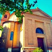 Facciata della Chiesa Parrocchiale - Lomargraphics - Cotignola (RA)