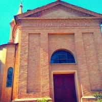 Facciata della Chiesa di Santo Stefano - Lomargraphics - Cotignola (RA)