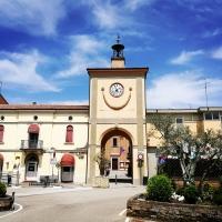 Torre civica (o Torre dell'Orologio) - Sant'Agata sul Santerno (RA) 1 - Enea Emiliani - Sant'Agata sul Santerno (RA)