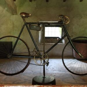 Il Cardello Casa Oriani - Il Cardello, la bicicletta di Alfredo Oriani foto di: |Imola Faenza| - Imola Faenza