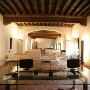 Rocca Estense - Rocca Estense, Salone Estense foto di: Gianni Bartolotti - Archivio fotografico comunale