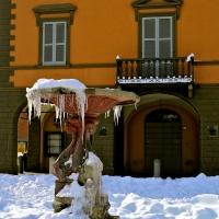 Ex sede Municipale - Scorcio della fontana - Caba2011 - Cavriago (RE)