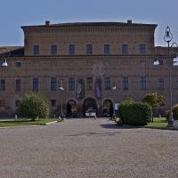 Corpo centrale di Palazzo Bentivoglio - Caba2011 - Gualtieri (RE)
