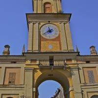 La Torre Civica con antico orologio e con campane per uso civico - Caba2011 - Gualtieri (RE)