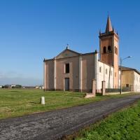 Chiesa dei Santi Crisanto e Daria-Esterno - Matteo Colla - Poviglio (RE)
