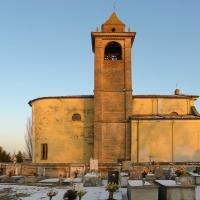 Fianco Chiesa di San Bartolomeo e cimitero - Matteo Colla - Poviglio (RE)