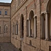 Veduta cortile interno ai chiostri - Caba2011 - Reggio nell'Emilia (RE)