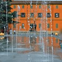 Pazza Martiri 7 Luglio con monumento - Caba2011 - Reggio nell'Emilia (RE)