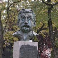 Busto a Giovannino Guareschi - Brixillum - Brescello (RE)