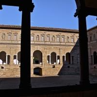 Vista cortile interno lato Est Chiostri di San Pietro - Caba2011 - Reggio nell'Emilia (RE)