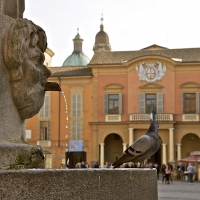 Fontana del Crostolo e Palazzo Comunale - Caba2011 - Reggio nell'Emilia (RE)