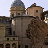 Piazza San Prospero con cupola ed abside del Duomo - Caba2011 - Reggio nell'Emilia (RE)