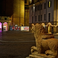 Piazza Piccola by night - Caba2011 - Reggio nell'Emilia (RE)