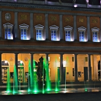 Teatro Valli by night - Caba2011 - Reggio nell'Emilia (RE)