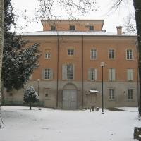 Palazzo Sartoretti e parco in inverno - Claudio Magnani - Reggiolo (RE)