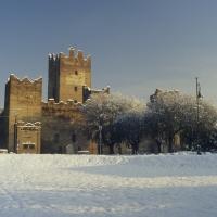 Rocca sotto la neve dell' inverno 2012 - Claudio Magnani - Reggiolo (RE)