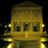 Teatro Comunale di notte - Claudio Magnani - Reggiolo (RE)