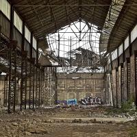 """Degrado ed abbandono alle """"Officine Reggiane"""" - Caba2011 - Reggio nell'Emilia (RE)"""