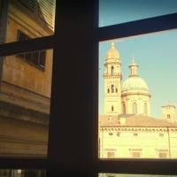 Vista finestra, scorcio di Piazza Roversi - Ceci.melani - Reggio nell'Emilia (RE)