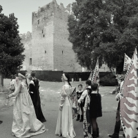 Rocca Medievale con corteo - Lasagni stefano - Reggiolo (RE)