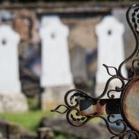 Cimitero Napoleonico Croce con lapidi - Claudio9197 - Cavriago (RE)