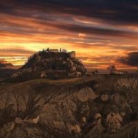 Tramonto al Castello di Canossa - Caba2011 - Canossa (RE)