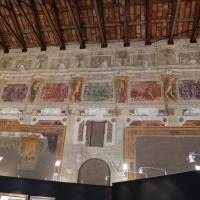 Pier francesco battistelli e aiuti, affreschi con scene dell'orlando furioso e della gerusalemme l. tra telamoni, 1619-28, 01 - Sailko - Gualtieri (RE)