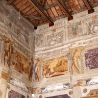 Pier francesco battistelli e aiuti, affreschi con scene dell'orlando furioso e della gerusalemme l. tra telamoni, 1619-28, 07 - Sailko - Gualtieri (RE)
