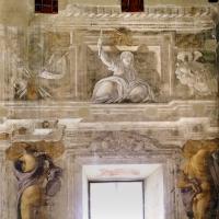 Pier francesco battistelli e aiuti, affreschi con scene dell'orlando furioso e della gerusalemme l. tra telamoni, 1619-28, 25 - Sailko - Gualtieri (RE)