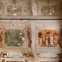 Pier francesco battistelli e aiuti, affreschi con scene dell'orlando furioso e della gerusalemme l. tra telamoni, 1619-28, 14 - Sailko - Gualtieri (RE)