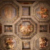 Sisto badalocchio e altri, soffitto della sala di giove, 1603, 05 - Sailko - Gualtieri (RE)