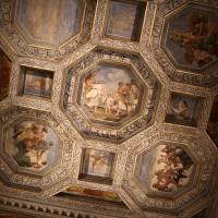 Sisto badalocchio e altri, soffitto della sala di giove, 1603, 03 - Sailko - Gualtieri (RE)