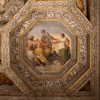 Sisto badalocchio e altri, soffitto della sala di giove, 1603, 07 ganimede riceve il calice dell'immortalità - Sailko - Gualtieri (RE)