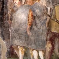 Giovanni da san giovanni (e ippolito provenzale), fasti bentivoglio, Investitura di Cornelio Bentivoglio a generalissimo di Gregorio XIII, 1628, 11 - Sailko - Gualtieri (RE)
