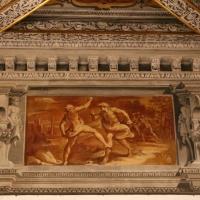 Gualtieri, palazzo bentivoglio, sala di giove, fregio con storie di roma da tito livio, 1600-05 circa, 02 romolo e remo - Sailko - Gualtieri (RE)