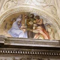 Gualtieri, palazzo bentivoglio, cappella, storie della vergine di scuola emiliana del 1605, 07 natività - Sailko - Gualtieri (RE)