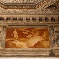 Gualtieri, palazzo bentivoglio, sala di giove, fregio con storie di roma da tito livio, 1600-05 circa, 04 visione di romolo - Sailko - Gualtieri (RE)