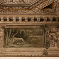 Gualtieri, palazzo bentivoglio, sala di giove, fregio con storie di roma da tito livio, 1600-05 circa, 01 lupa 1 - Sailko - Gualtieri (RE)