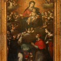 Scuola parmense, madonna del rosario, xvi secolo 02 - Sailko - Gualtieri (RE)