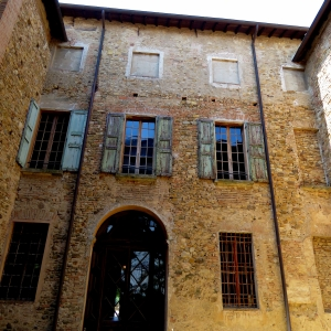 Castello di Bianello - Corte interna foto di: |Giacopini Vito| - Archivio fotografico del castello